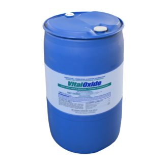 1 Gallon Vital Oxide Drum on a plain white background.